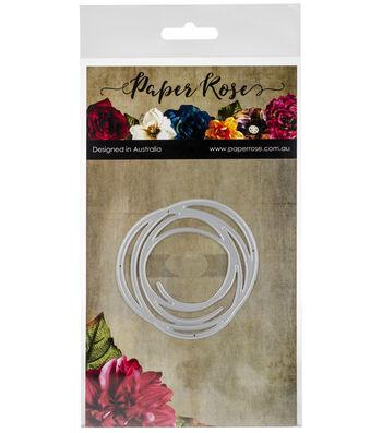 Paper Rose Small Metal Die-Scribble Circle