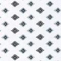 Nursery Cotton Fabric -Aztec Gray