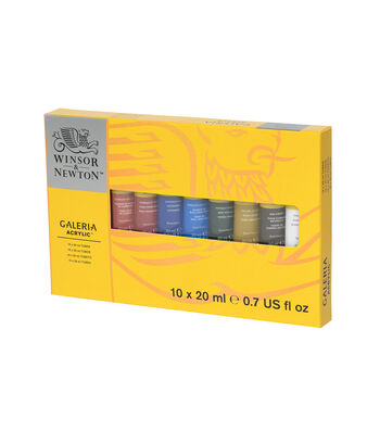 Winsor & Newton Galeria Acrylic Paint Set 20ml 10Pk