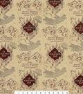 Harry Potter Knit Fabric 58\u0027\u0027-Marauders Map