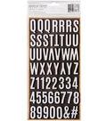 Jen Hadfield Heart Of Home Thickers Stickers 5.5\u0022X11\u0022-Letterboard