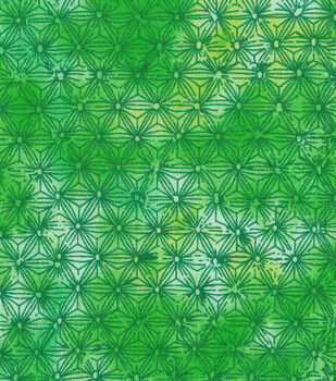 Keepsake Calico Cotton Fabric -Green Tiedye Blender