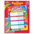 Praise Words \u0027n Stars Chore Charts, 25 Per Pack, Pack of 6