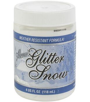 Aleene's Glitter Snow 4oz Multipack of 12