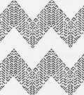 Waverly Solid 8x8 Fabric Swatch-Edgy/Crystal