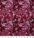 Keepsake Calico Cotton Fabric-Dark Pink Oil Slick