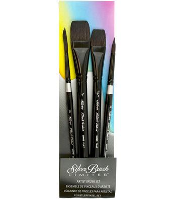 Black Velvet Watercolor Basic Set 4 Pieces