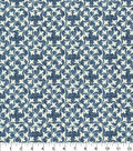 Waverly Upholstery Fabric 54\u0027\u0027-Midnight Courtyard