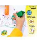 Crayola Washable Tripod Grip Stampers 8/Pkg