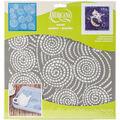DecoArt Americana 12\u0027\u0027x12\u0027\u0027 Stencil-Segmented Swirls