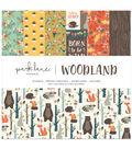 Park Lane 12\u0022x12\u0022 Paper Pad-Woodland Creatures