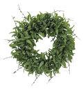 Blooming Holiday Christmas 26\u0027\u0027 Glisten Olive Leaves Wreath