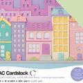 American Crafts Variety Cardstock Pack 12\u0022X12\u0022-Pastels