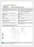 Mccall Pattern V8851 6-8-10-12--Vogue Pattern