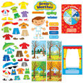 Creative Teaching Press Dress for the Weather Bulletin Board Set, 2 Sets