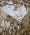 Gianna Hand Beaded Jewel Embroidered Mesh Fabric 51\u0022