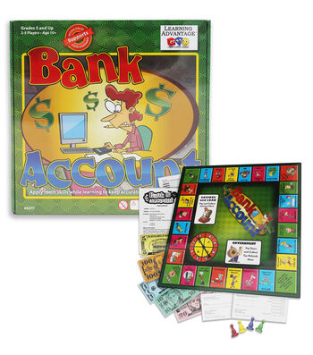 Bank Account Board Game