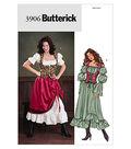 Butterick Pattern B3906-Blouson Dress, Skirt and Fitted Vest