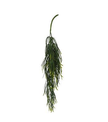 Bloom Room Artisan 24'' Leaf Hanging Bush-Green