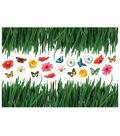 Home Decor Grass Wall Stickers, 23 Piece Set
