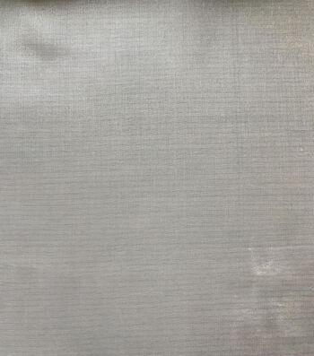 Glitterbug Solid Chiffon Fabric 45''-White