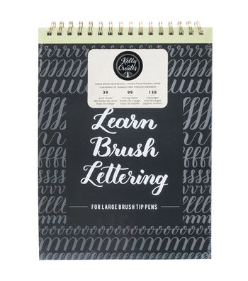 Kelly Creates 138-sheet Large Brush Workbook