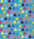 Snuggle Flannel Fabric -Whimsy Triangle
