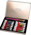 Oil Paint Art Kit With Tin 8-1/2\u0022x6\u0022