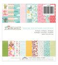 Pebbles Garden Party Paper Pad 6\u0022x6\u0022