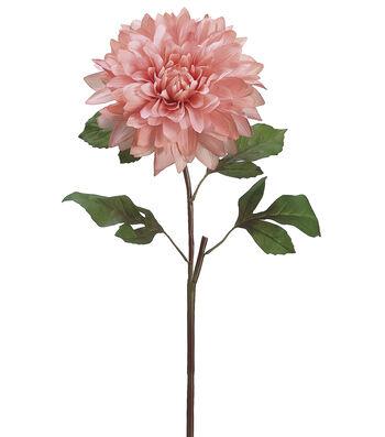 "Bloom Room 25"" Dinner Plate Dahlia Stem-Pink"