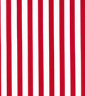 Christmas Cotton Fabric-Large Red Stripe