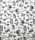 Nursery Warm Fabric-Wild Animals