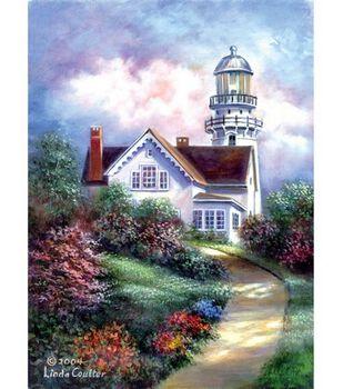 """Acrylic Painting Masterpiece Set 11""""X14""""-Cape Elizabeth"""