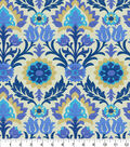 Waverly Sun N Shade Fabric-Santa Maria Azure