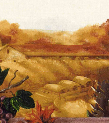 "Harvest Cotton Fabric 60""-Wide Countryside"