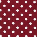 Keepsake Calico Cotton Fabric-Large Dots on Burgundy