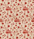 Eaton Square Multi-Purpose Decor Fabric-Francisco/Red