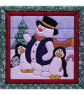 Winter Fun Quilt Magic Kit-12\u0022X12\u0022