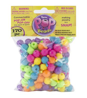 Pop Beads 170/Pkg-Round