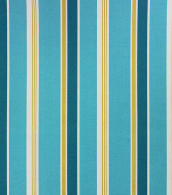 Solarium Outdoor Decor Fabric 54''-Turquoise Heatwave