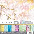 Paper House Marbelous Pack of 48 12\u0027\u0027x12\u0027\u0027 Paper Pad