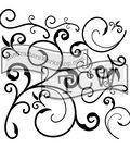The Crafter\u0027s Workshop Jaime Echt 6\u0027\u0027x6\u0027\u0027 Stencil-Capricious