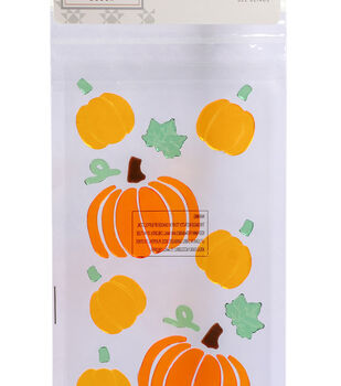 Simply Autumn Gel Clings-Pumpkins