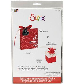 Sizzix BIGkick/Big Shot Texturz Accessory-Impressions Pad