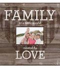 MBI 12\u0027\u0027x12\u0027\u0027 Post Bound Album with Window-Family Love