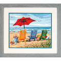 Dimensions PaintWorks Paint By Number Kit-Beach Chair Trio