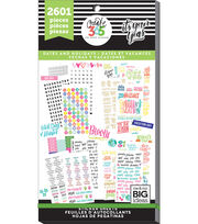 The Happy Planner Sticker Sheets-Dates & Holidays, , hi-res
