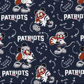 New England Patriots Cotton Fabric-Mickey Mouses