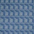Light Wash Patchwork Jaqrard Stretch Denim Fabric