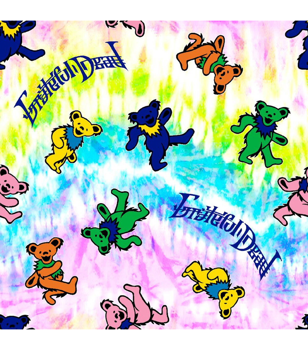 Great for Quilting, Sewing, Craft Projects, /& More The Smurfs Movie Rainbow Smurfette on Pink 100/% Cotton Fabric Officially Licensed 1//2 Yard X 44
